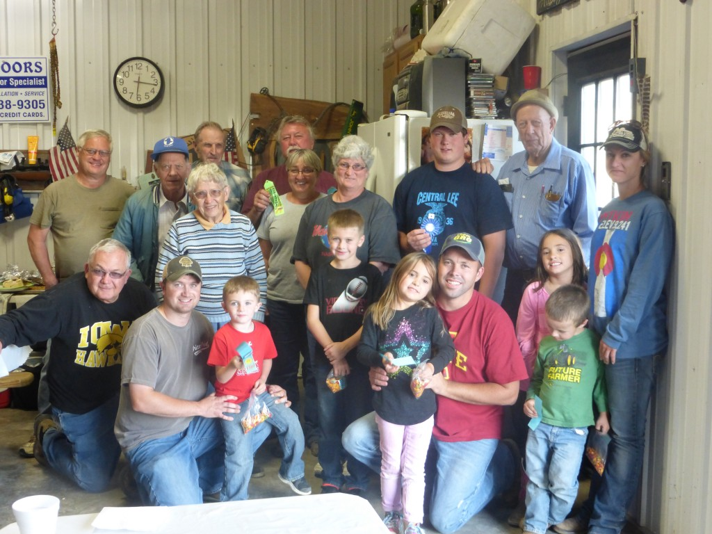 Fall Outing 2014 - fishing derby participants